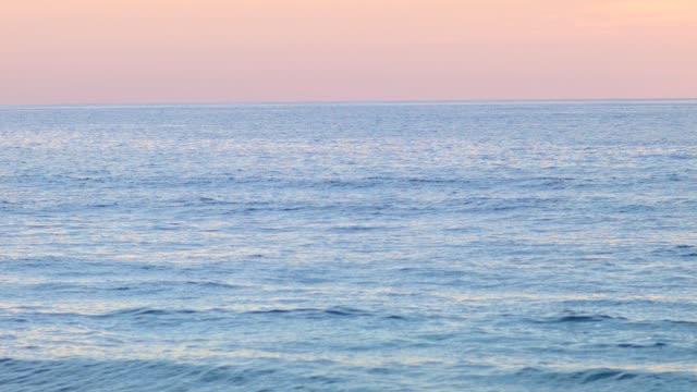 Waves at Lit-et-Mixe Beach, sunset