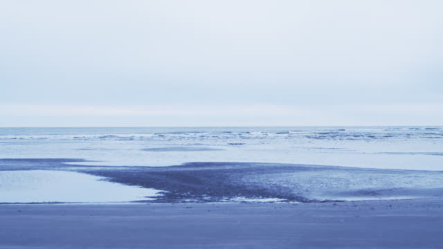 Waves crash onto Boneyard Beach in South Carolina.