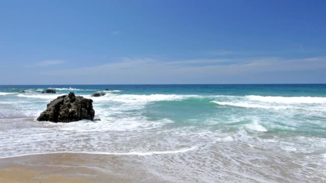 HD - Waves on a  Tropical beach
