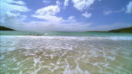 MS, Waves on beach, Vieques, Puerto Rico