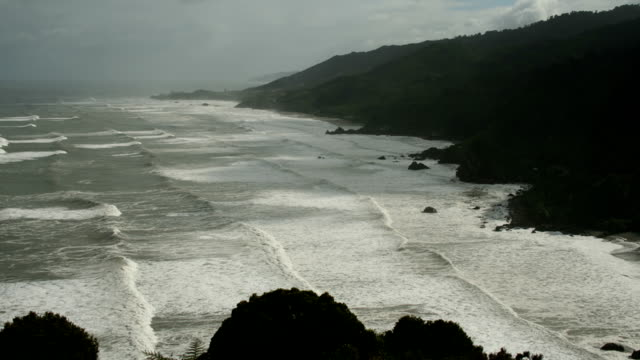 T/L waves on West Coast of New Zealand
