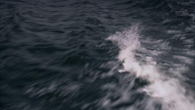 Waves Stockholm archipelago Sweden.