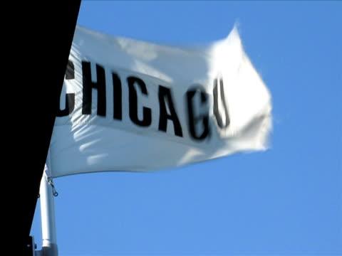 Waving Chicago Flag