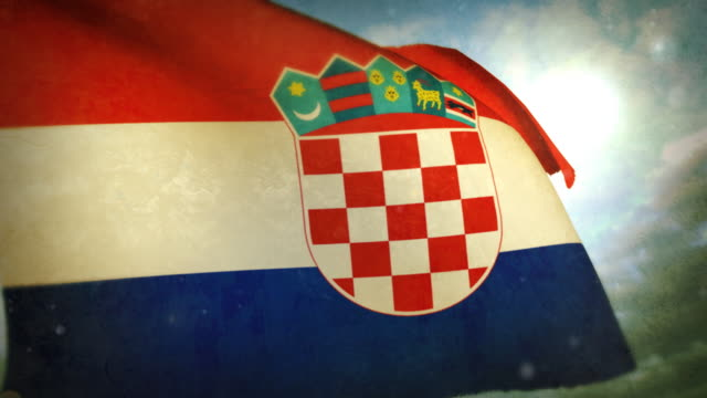 Waving Flag - Croatia