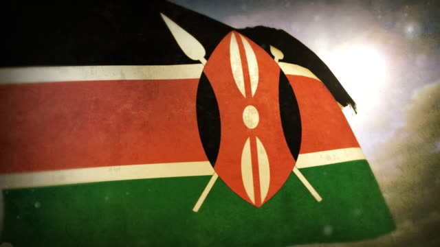 Waving Flag - Kenya