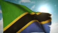 Waving Flag - Tanzania