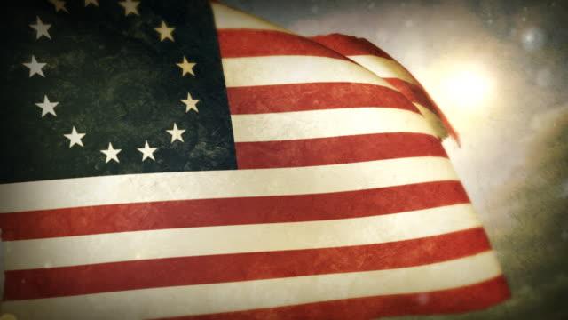 Waving Flag - USA -Betsy Ross