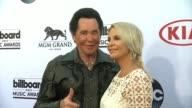 Wayne Newton and Kathleen McCrone at MGM Grand on May 17 2015 in Las Vegas Nevada