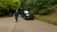 Wayne Rooney accused of drink driving ENGLAND Cheshire EXT Car carrying Everton footballer Wayne Rooney past waiting press and through the gates of...
