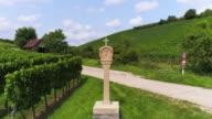 Wayside Cross At Vineyard In Franconia