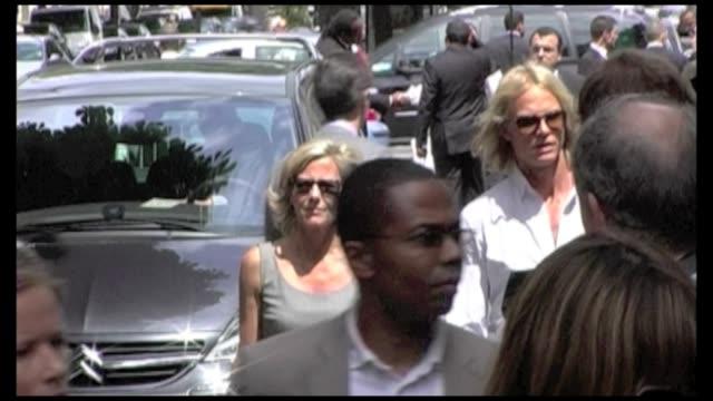 We spotted actresses Marion Cotillard Clotilde Coureau Nora Arnezeder tv presenter Claire Chazal and fiance Arnaud Lemaire ex First Lady Bernadette...