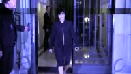 We spotted Kim Kardashian and Kanye West leaving their home in Paris all dressed up to attend Givenchy Fashion show in Paris Also spotted Jessica...