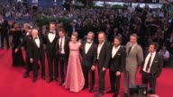 We spotted Mel Gibson Andrew Garfield Vince Vaughn the very pregnant Teresa Palmer Hugo Weaving Luke Bracey and more on the red carpet at the Venice...