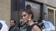 We spotted Miss Universe 2016 Iris Mittenaere arriving at the Anna Sui Ready To Wear fall winter 2017 fashion show in New York City New York City NY...