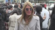 We spotted singer MIA Maria Sharapova Anna Dello Russo blogger star Chiara Ferragni Hofit Golan Jeanne Damas Carine Roitfeld Rhys Ifans Jefferson...