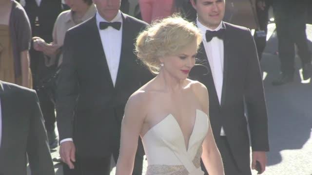 We spotted Sylvie Tellier Alain Delon and Marine Lorphelin Jury members Ang Lee Christoph Waltz Nicole Kidman Jury President Steven Spielberg and...