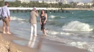 We spotted the American actress doing a photoshoot on the beach in Cannes directed by photographer Gilles Bensimon on the beach of the Magnum Club in...