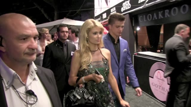 We spotted the American socialite Paris Hilton arriving at Gotha Club with River Viperii and friends Cannes France on Wednesday May 22 2013