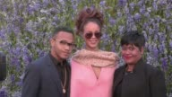We spotted the beautiful singer Rihanna her mother Monica Braithwaite and her brother Rajad Fenty on their way to the Dior Spring Summer 2016 Fashion...