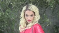 We spotted the British singer Rita Ora attending the 2013 Chanel Haute Couture fashion show held at the Grand Palais in Paris on January 22 2013 in...