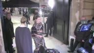 We spotted the guest attending the Valentino Haute Couture Fashion Show in Paris among them Miroslava Duma Elena Perminova Kristina Bazan Adriana...