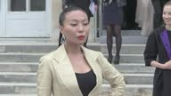 We spotted the guests of the Dior Pret à Porter Fashion Week at the Musee Rodin Among the guests were Ana Girardot Alexandra Golovanoff Zhang Yuqi...