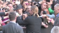 We spotted the Hollywood superstar Brad Pitt on the red carpet of his latest flick World War Z in Paris France A massive crowd of fans and press was...