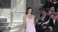 We spotted the TV reality star turned model Kendall Jenner on the runway at the Givenchy Men Fashion Show in Paris as always her proud mother Kris...
