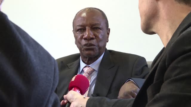 We will never accept the military coup d'etat said Guinean President and head of the African Union Alpha Conde on Thursday in an interview in Paris...