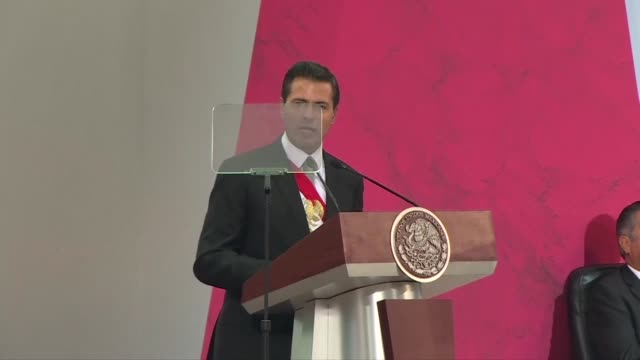 We will not accept anything that goes against our dignity as a nation says President Enrique Pena Nieto during his last state of the union address...