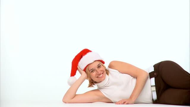 HD: Wearing A Santa Hat
