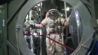 Wearing helmets weighing 100 kilos spinning in a centrifuge and exercising while weightless Russian cosmonauts and astronauts from abroad have to...