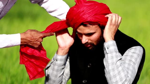 wearing turban