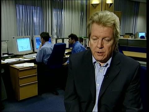 El Nino return predicted ITN ENGLAND London The Met Office i/c