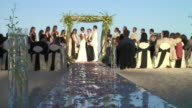 WS, CS, Wedding ceremony on beach of Cabo San Lucas, Mexico