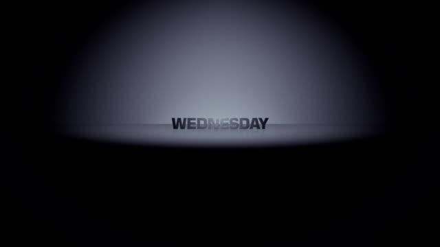 Wednesday Week Day Horizon Zoom