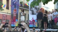 A week of gay pride festivities kicked off in the Spanish capital Madrid on Wednesday with the launch attended by the Austrian winner of the 2014...