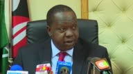 A weekend fire at a Kenyan high school dormitory that killed nine teenaged girls was started deliberately Kenya's education minister says