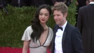 Wei Tang and Christopher Bailey at 'China Through The Looking Glass' Costume Institute Benefit Gala Arrivals at Metropolitan Museum of Art on May 04...
