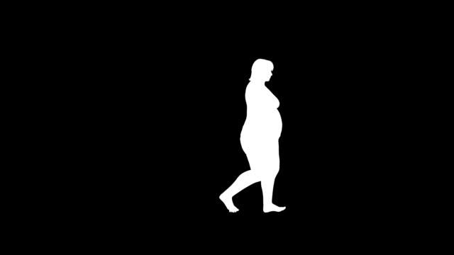 weight gain walk female