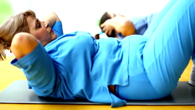 Weight loss training.