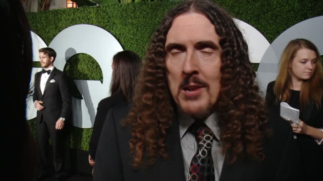 INTERVIEW Weird Al GQ Celebrates The 2014 'Men Of The Year' at Chateau Marmont on December 04 2014 in Los Angeles California