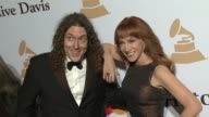 'Weird Al' Yankovic and Kathy Griffin at the 2016 PreGRAMMY Gala And Salute to Industry Icons Honoring Irving Azoff at The Beverly Hilton Hotel on...