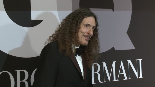 'Weird Al' Yankovic at GQ Celebrates The Grammys With Giorgio Armani at Hollywood Athletic Club on February 08 2015 in Hollywood California