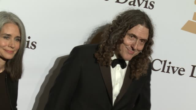 'Weird Al' Yankovic at the 2016 PreGRAMMY Gala And Salute to Industry Icons Honoring Irving Azoff at The Beverly Hilton Hotel on February 14 2016 in...