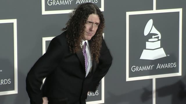 'Weird Al' Yankovic at the 52nd Annual GRAMMY Awards Arrivals at Los Angeles CA