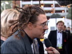 Weird Al Yankovic at the American Music Awards at the Shrine Auditorium in Los Angeles California on January 29 1996
