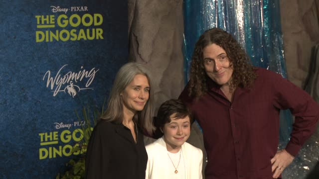 'Weird Al' Yankovic at 'The Good Dinosaur' World Premiere at the El Capitan Theatre on November 17 2015 in Hollywood California