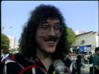 Weird Al Yankovic at the 'Last Action Hero' Premiere on June 13 1993