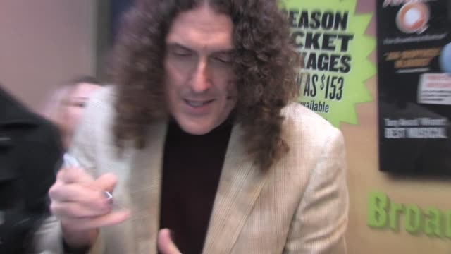 'Weird Al' Yankovic at the Los Angeles opening night of 'Rock of Ages' at the Pantages Theatre at the Celebrity Sightings in Los Angeles at Los...
